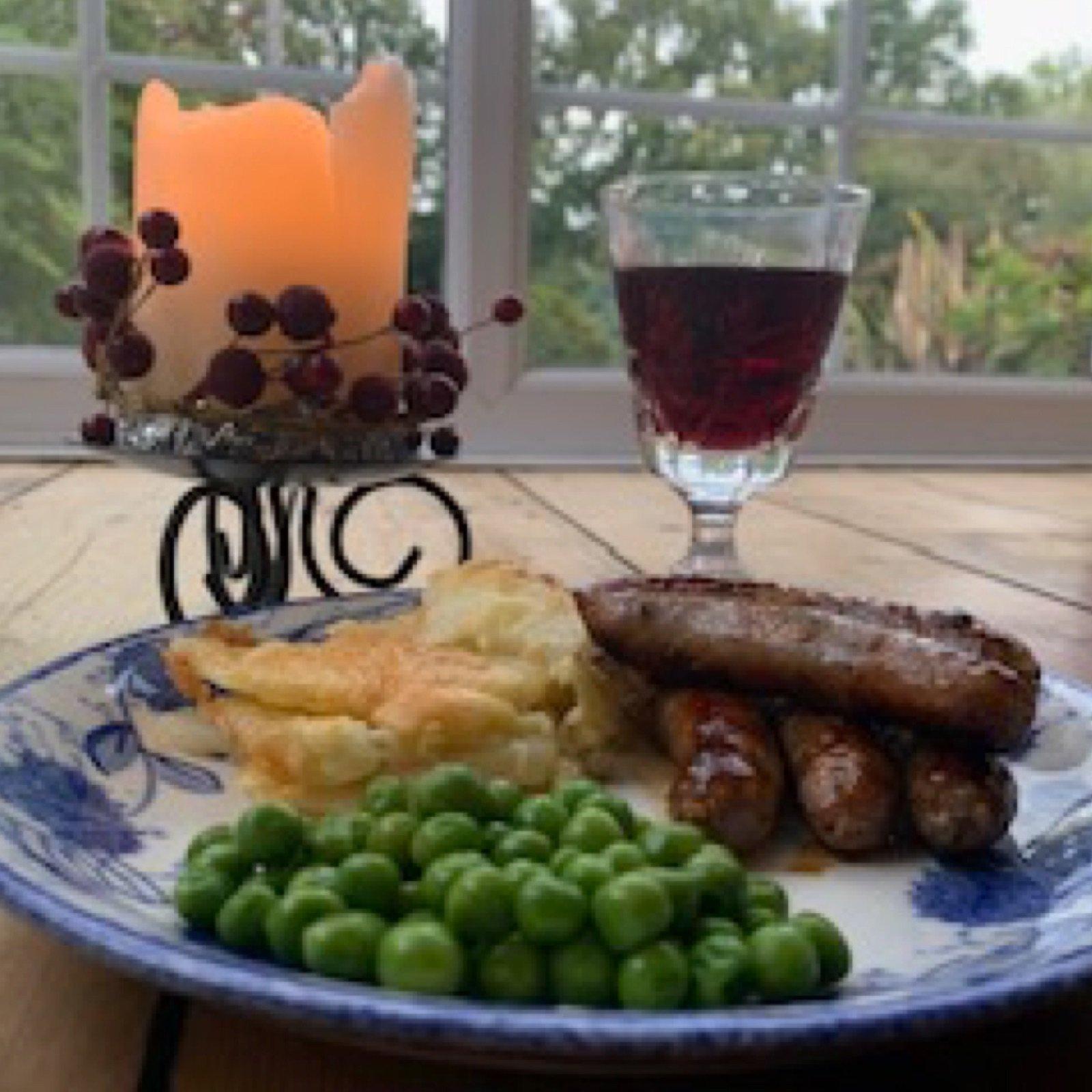 honey-red-wine-pork-sausages