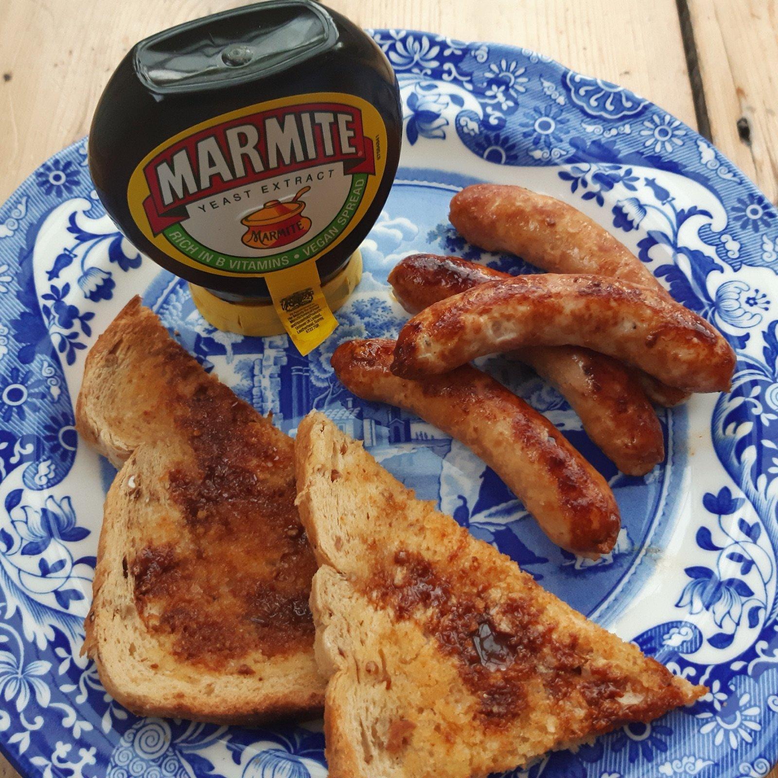 marmite-sausages