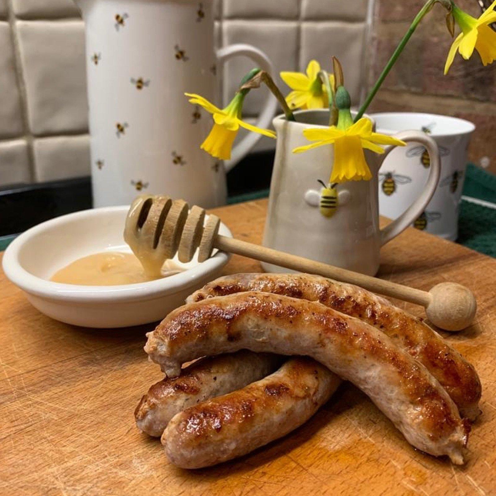 pork-and-honey-sausages