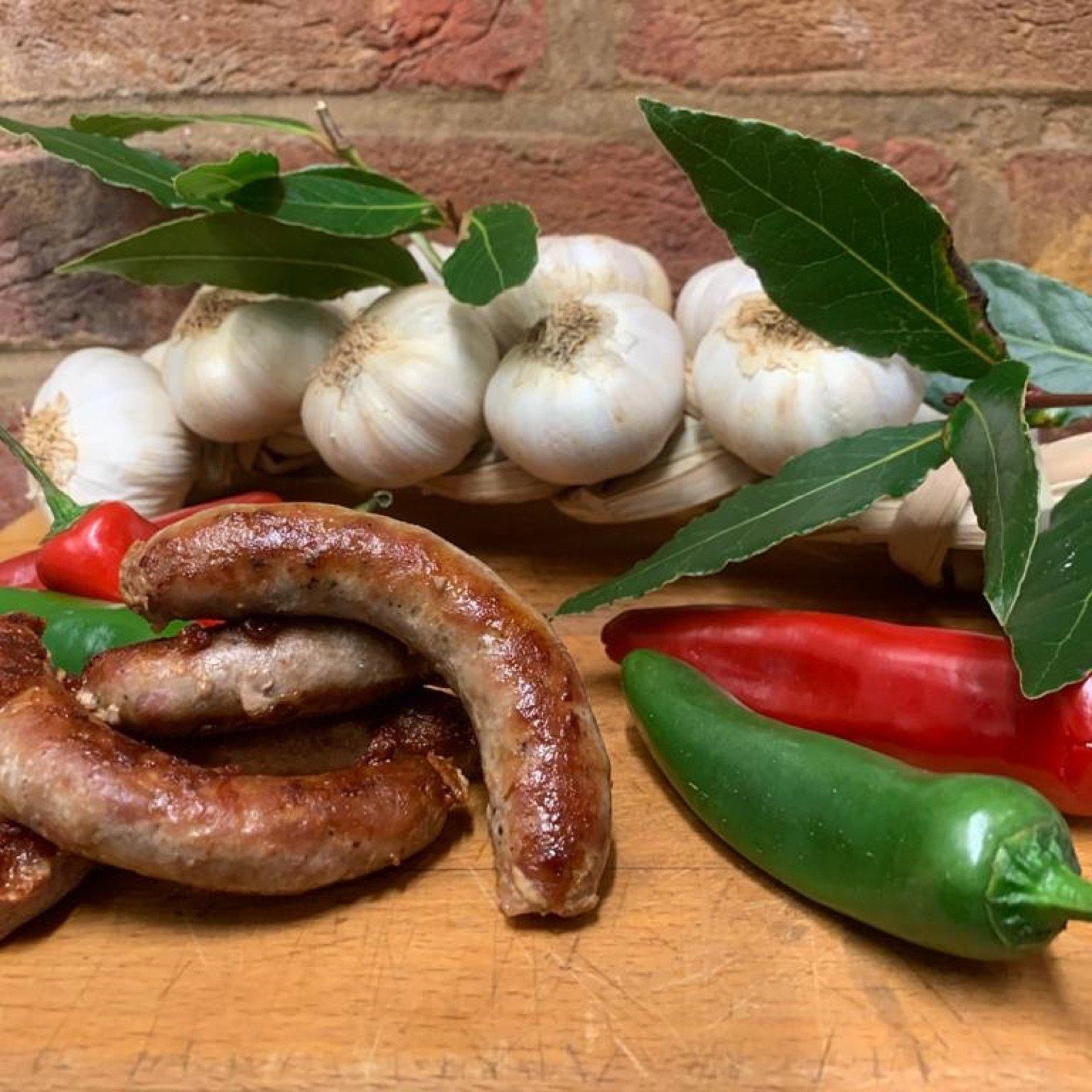 chilli-garlic-sausage